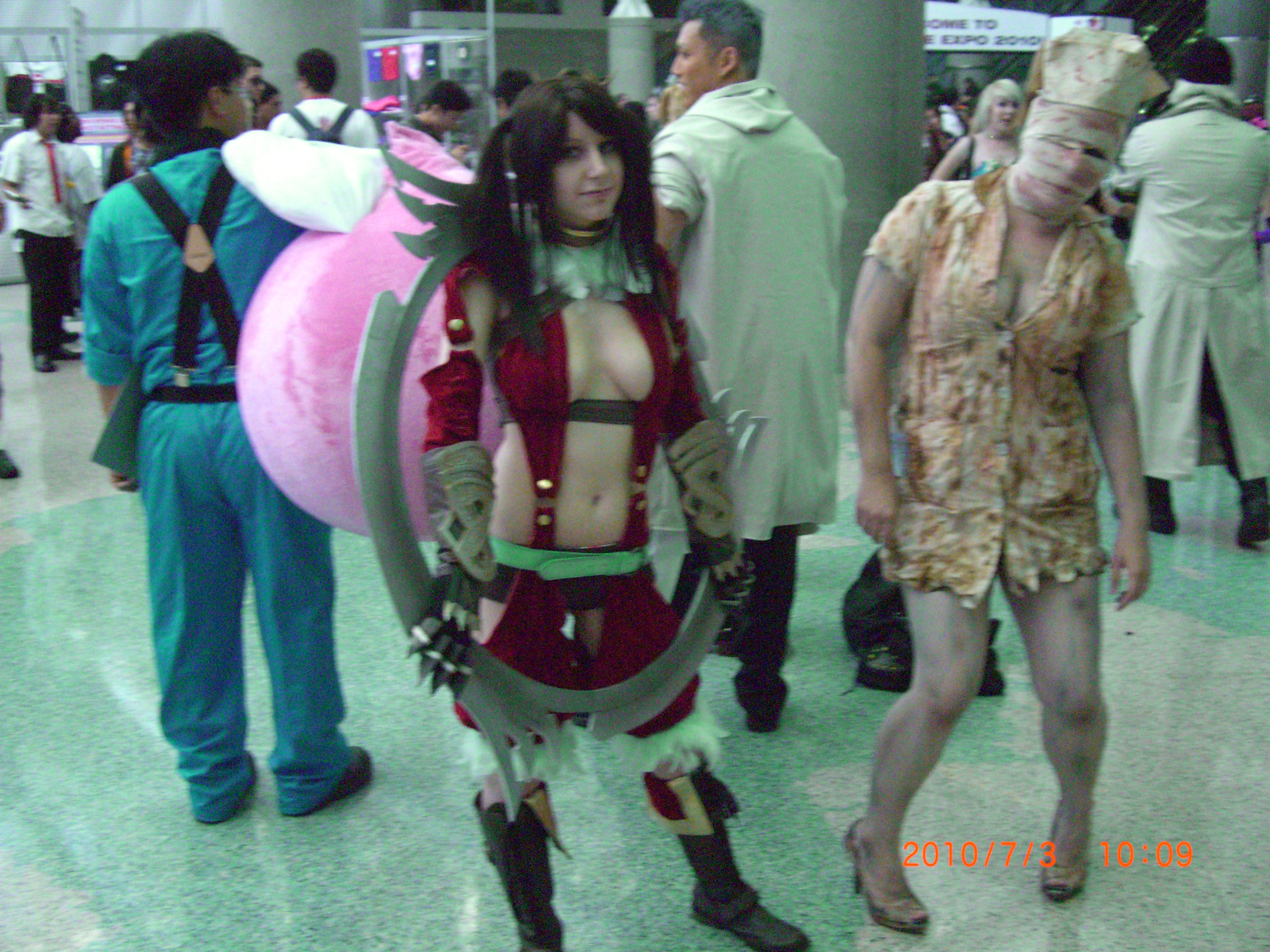 Video game cosplay sex