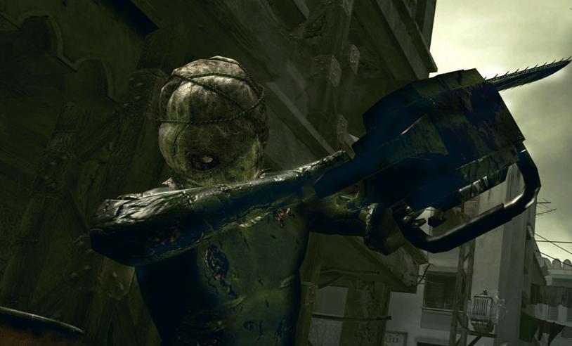 Resident Evil 4 Chainsaw Guy Resident Evil 5 Previe...