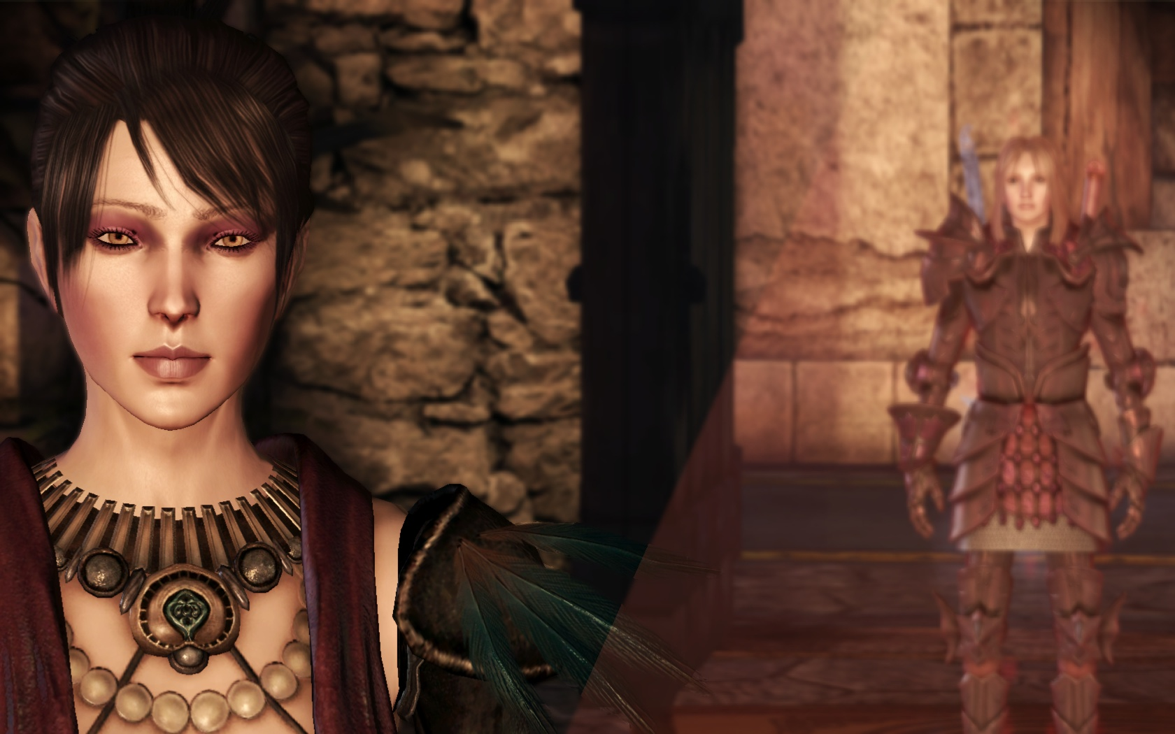 Dragon Age Origins - Morrigan's Offer - Final Love Scene dragon age